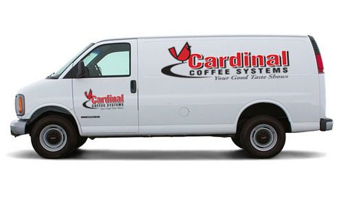 Cardinal Coffee Systems Delivery Van